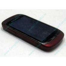 Красно-розовый телефон Alcatel One Touch 818 (Котельники)