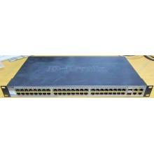 Управляемый коммутатор D-link DES-1210-52 48 port 10/100Mbit + 4 port 1Gbit + 2 port SFP металлический корпус (Котельники)